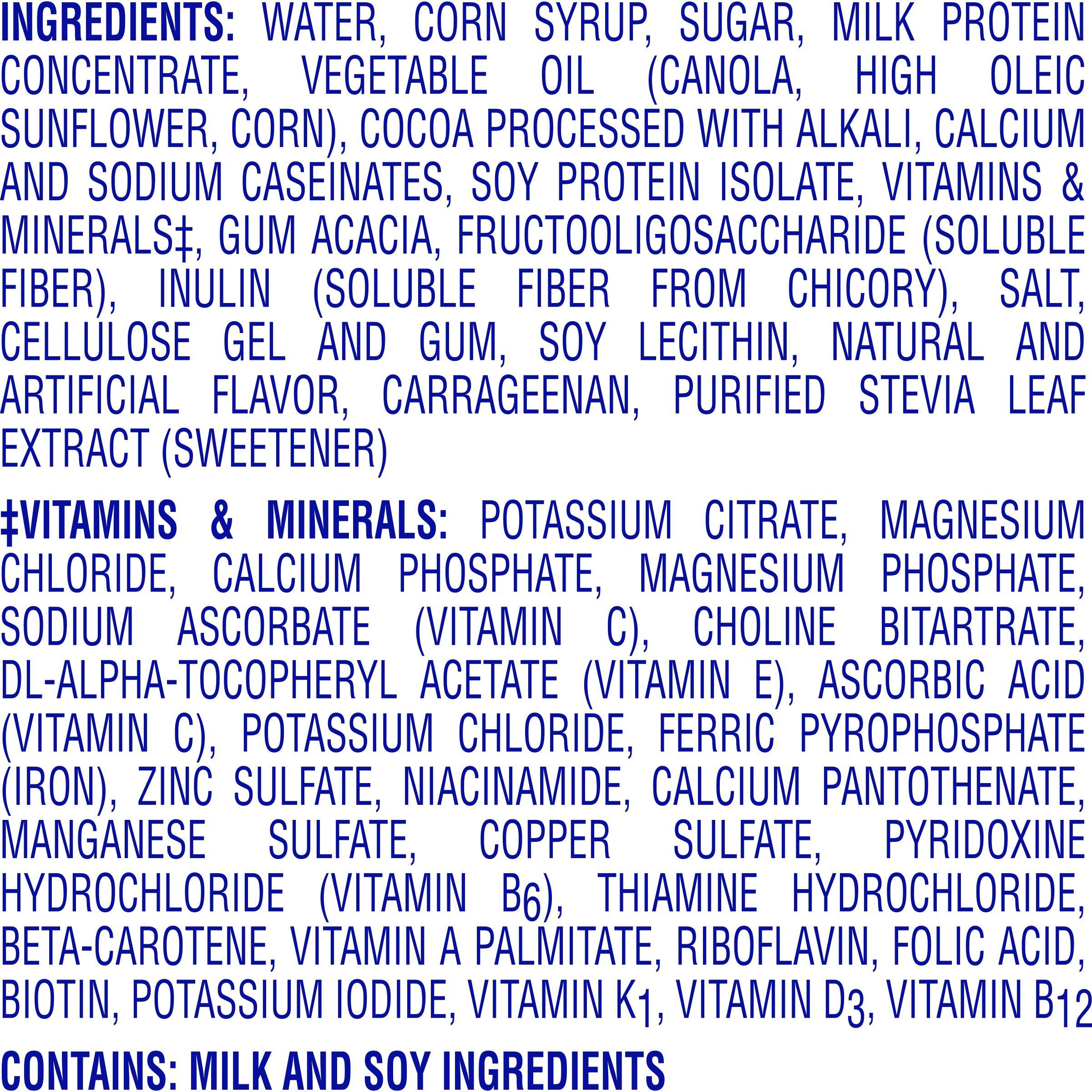 Carnation Breakfast Essentials High Protein Ready-to-Drink, Rich Milk Chocolate, 8 fl oz Bottle, 24 Pack by Carnation Breakfast Essentials