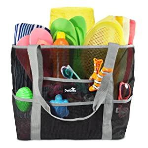 Dejaroo Mesh Beach Bag – Toy Tote Bag Review