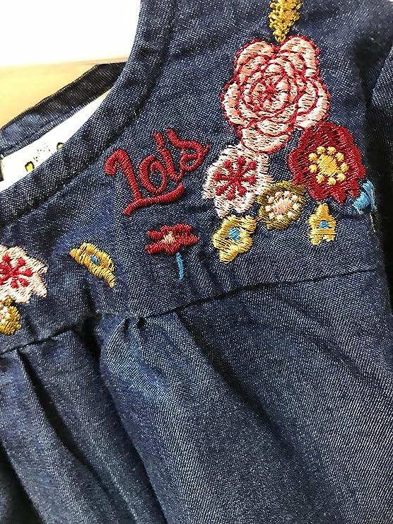 Lois 51306 Camisa Vaquera Flores niña Talla 4 años: Amazon.es: Ropa y accesorios