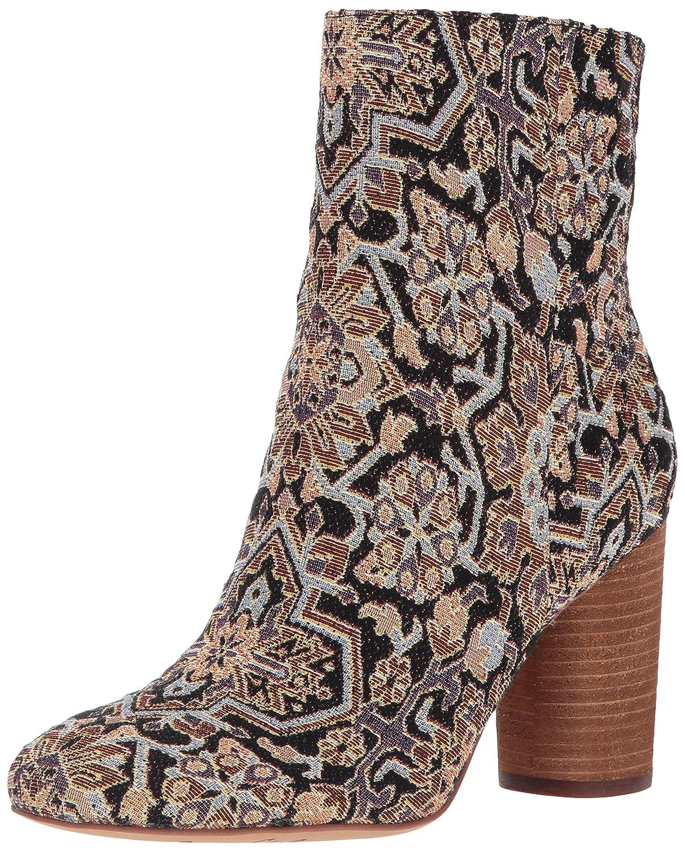 Sam Edelman Women's Corra Ankle Boot B01MYZF10E 7.5 B(M) US|Black/Multi Turkish Tapestry