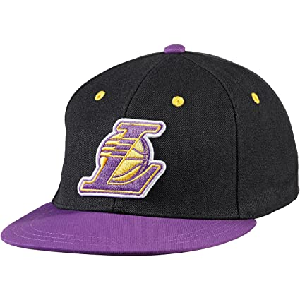 Gorra adidas – Nba Fitted Los Angeles Lakers Negro/Morado L