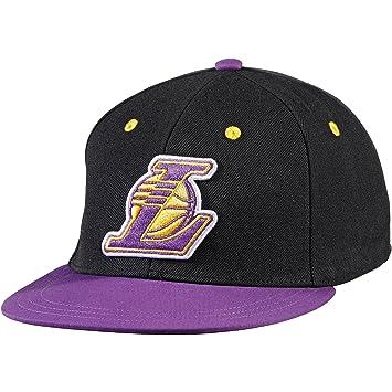 6389ddbf18f7 Gorra adidas - Nba Fitted Los Angeles Lakers Negro/Morado L: Amazon ...
