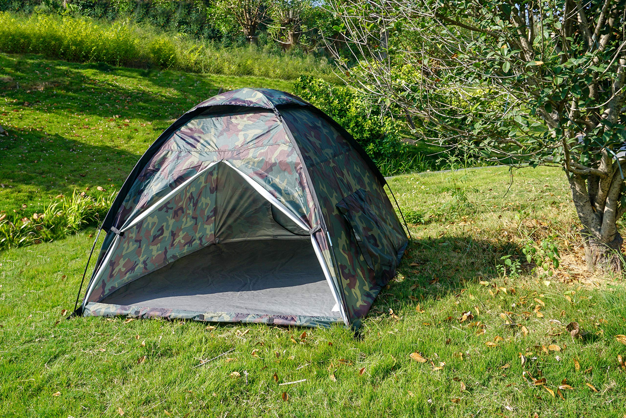 NARMAY Play Tent Camouflage Dome Tent for Kids Indoor / Outdoor Fun - 60 x 60 x 44 inch by NARMAY (Image #2)
