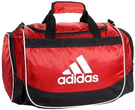 Adidas Defense Small Duffel Scarlet/White/Black