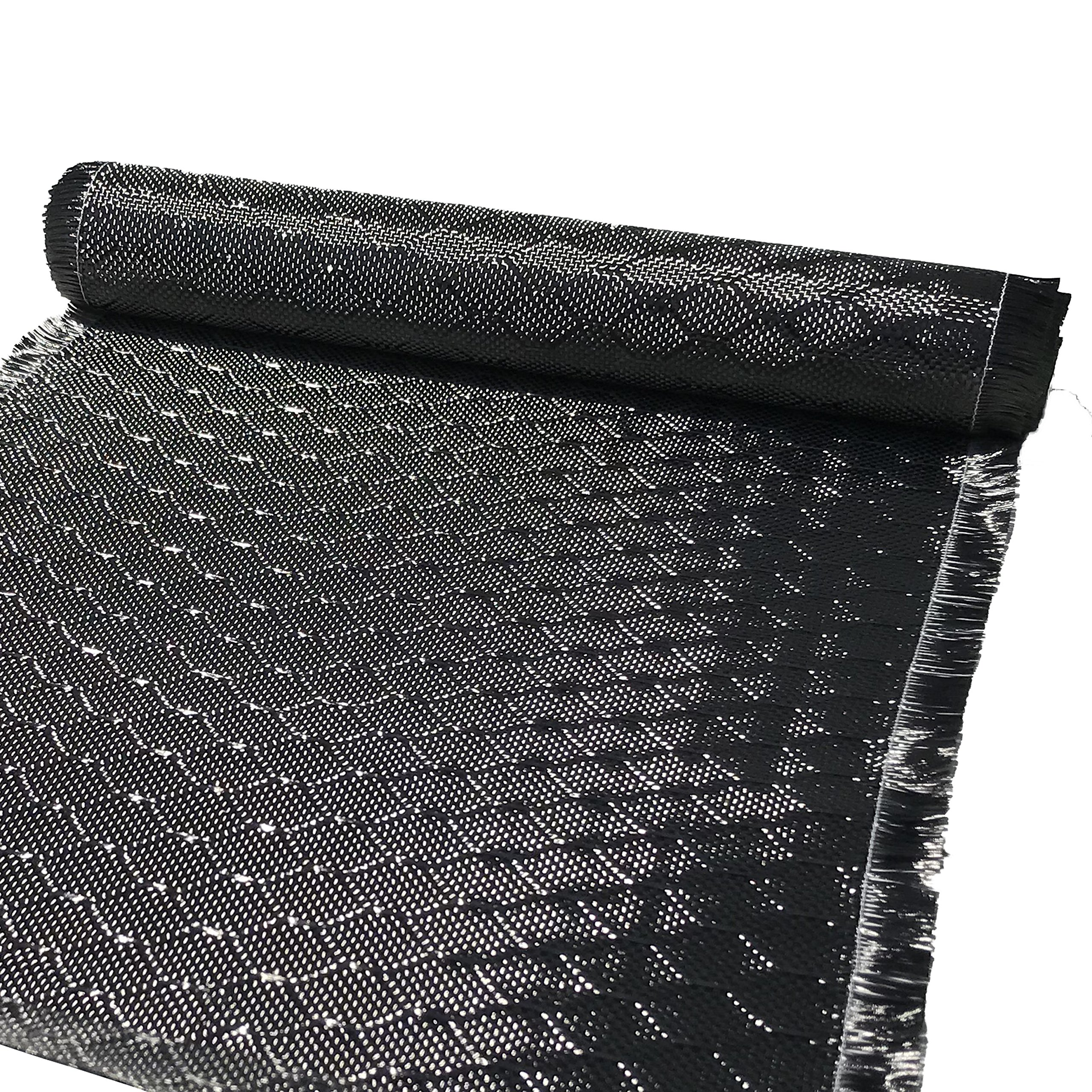 12 in x 5 FT - WASP - Carbon Fiber Fabric - Wasp Weave-3K - 220g-Black by CARBON KEVLAR SUPPLY (Image #6)
