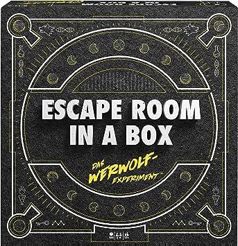 Mattel Games FWK72 Escape Room In A Box - Juego de Estrategia para 2 - 8 Jugadores (Tiempo de Juego Inferior a 60 Minutos, Juegos de Estrategia a Partir de 13 años): Amazon.es: Juguetes y juegos