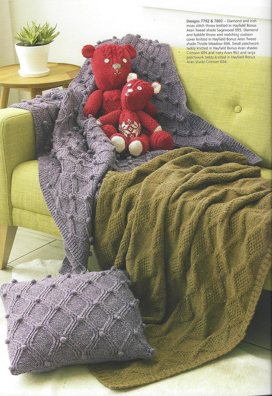 Sirdar/Hayfield Bonus Aran/ovillo de lana para tejer libro de patrones para tejer - 504 Aran Homewares: Amazon.es: Hogar