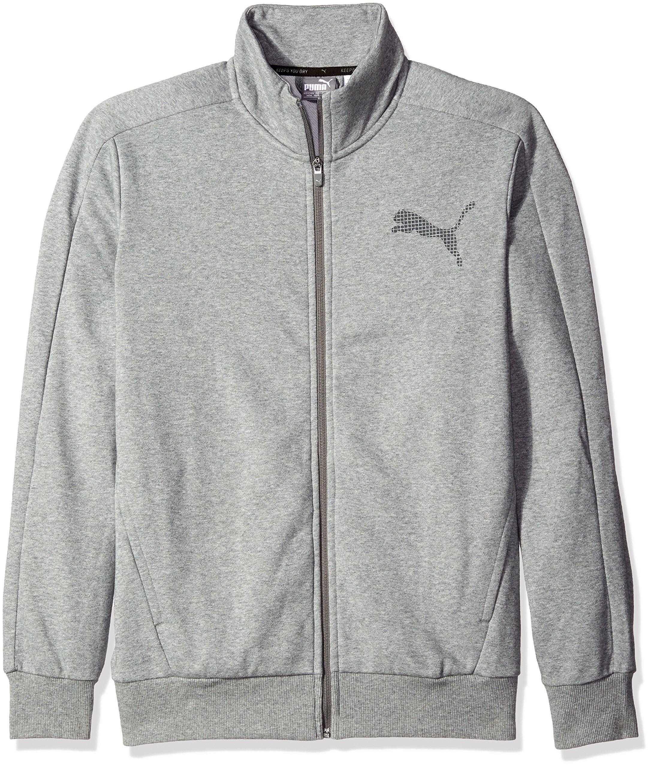 5ca00fc00f8c Galleon - PUMA Men s P48 Core Track Jacket Fleece
