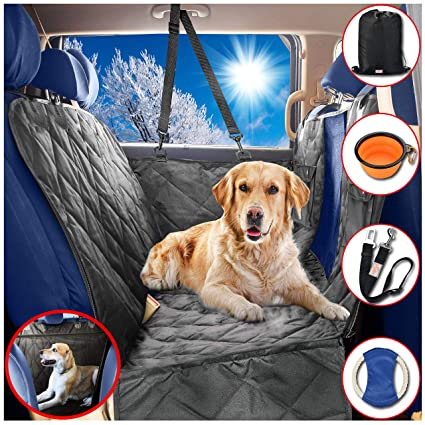 Dog Car Seat Covers Hammock For Pets Back And Doors Protector Unique Mesh