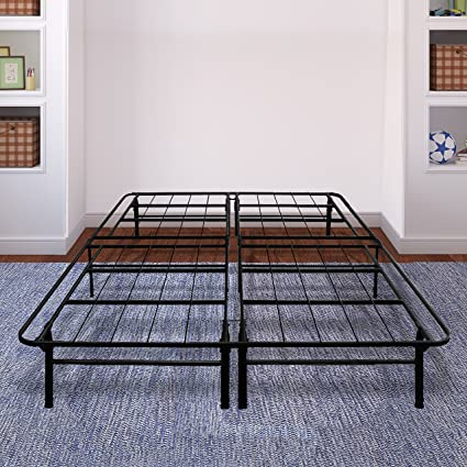 Amazon.com: Best Price Mattress 14 Inch Premium Steel Bed Frame ...