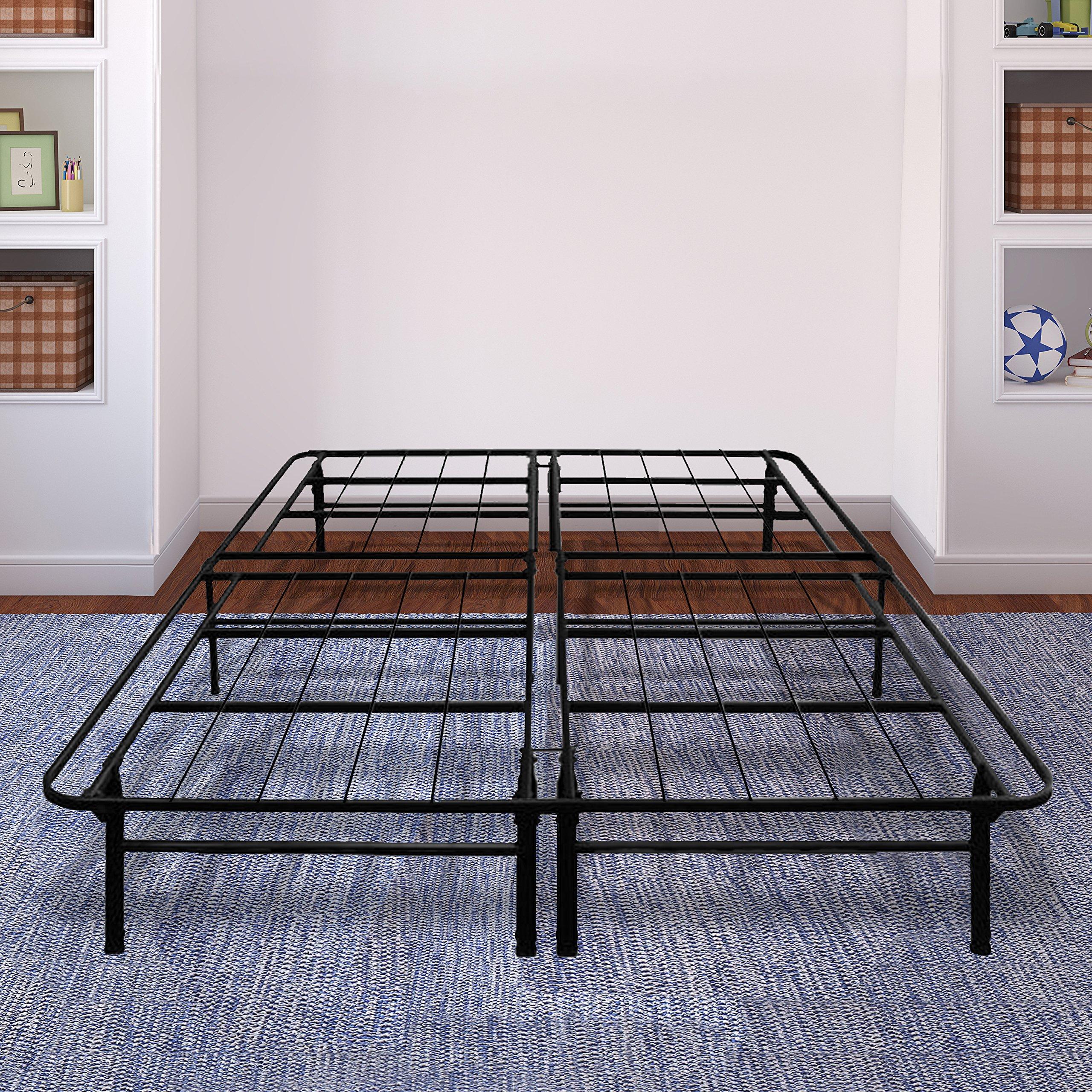 Best Price Mattress 14 Inch Premium Steel Bed Frame/Platform Bed,Queen