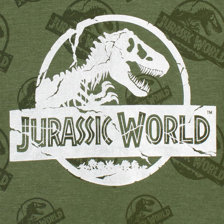 Jurassic World Velociraptor Foil Blue T-Shirt 4-13 years