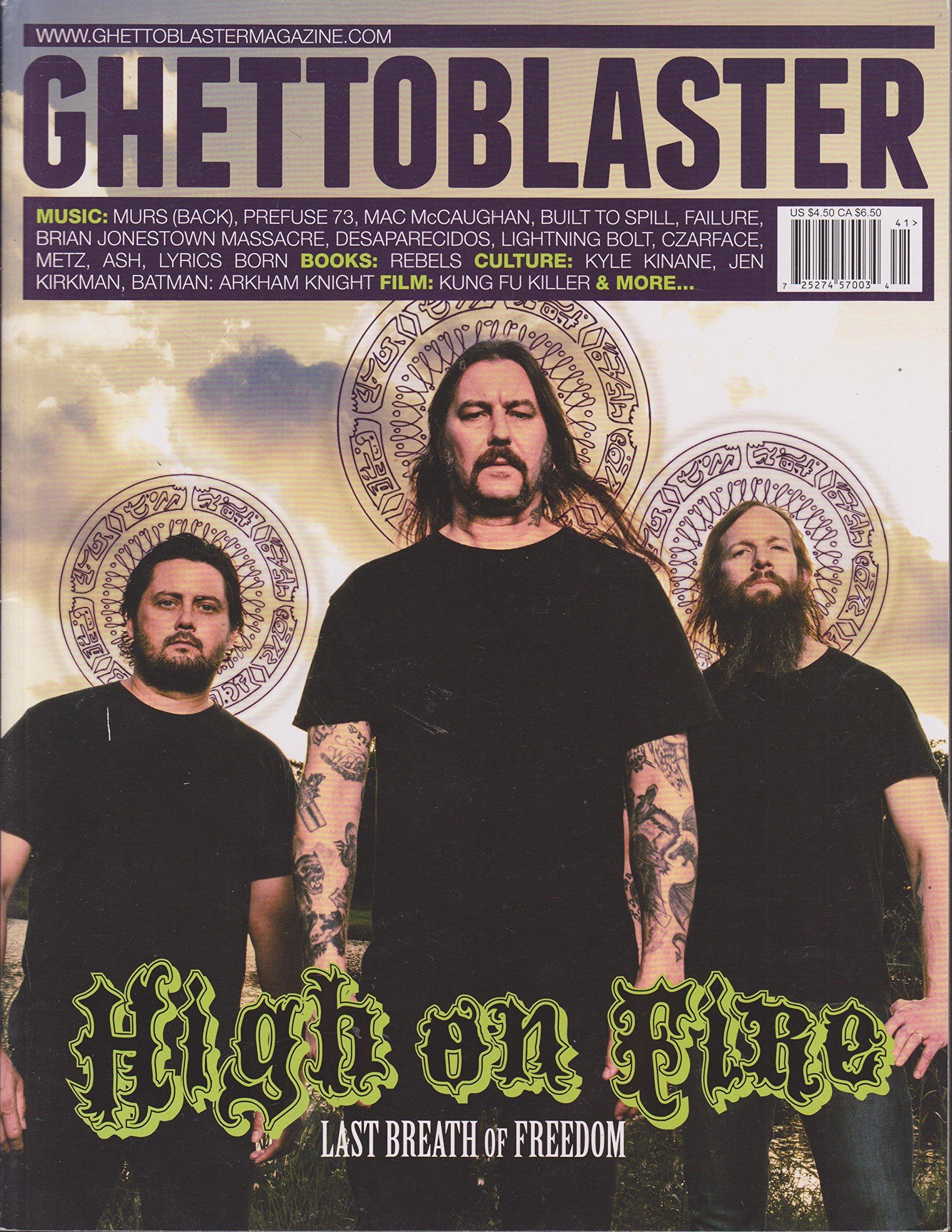 Download Ghettoblaster Magazine Number 41 PDF