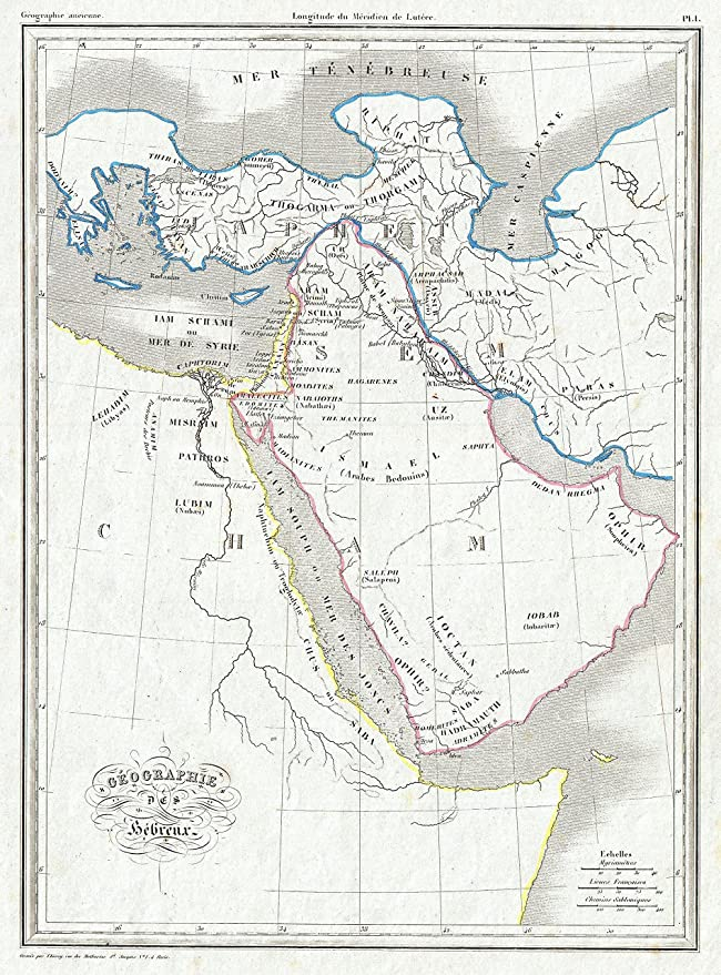 Amazon Home Forts Framed Art For Your Wall Map Of 1843 Malte Brun The Biblical Lands Hebrews Egypt Arabia Israel: Anzio Sd Meter Wiring Diagram At Downselot.com