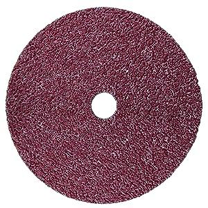 "3M 982C Cubitron II Fibre Disc, 36+ Grade, Coated Ceramic Brown Fibre Disc - 7"" x 7/8"" (Pack of 25)"