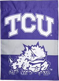 Amazoncom TCU Garden Flag and Yard Banner Sports Fan Outdoor