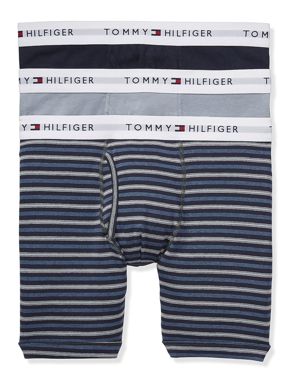 TOMMY HILFIGER(トミーヒルフィガー) ボクサーパンツ 3枚セット お買い得 パック メンズ 男性用 下着 09TE015 [並行輸入品] B06ZZSDLB5 X-Large|Greenfield Greenfield X-Large