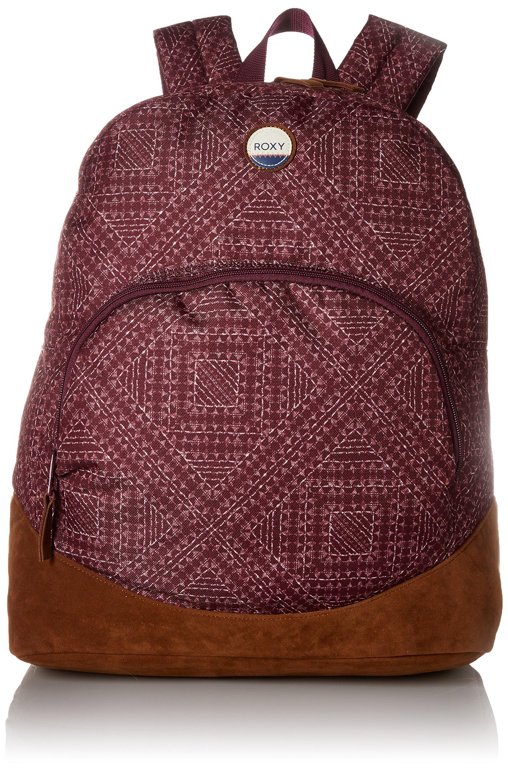 Roxy Women's Fairness Printed Backpack, Grapewine Cayo Coco
