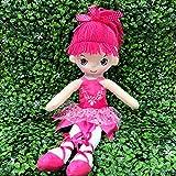 "Heart to Heart 17"" Ballerina Doll for Little Girls' Ballet Dance Recital and Birthday Gifts (Hot Pink)"