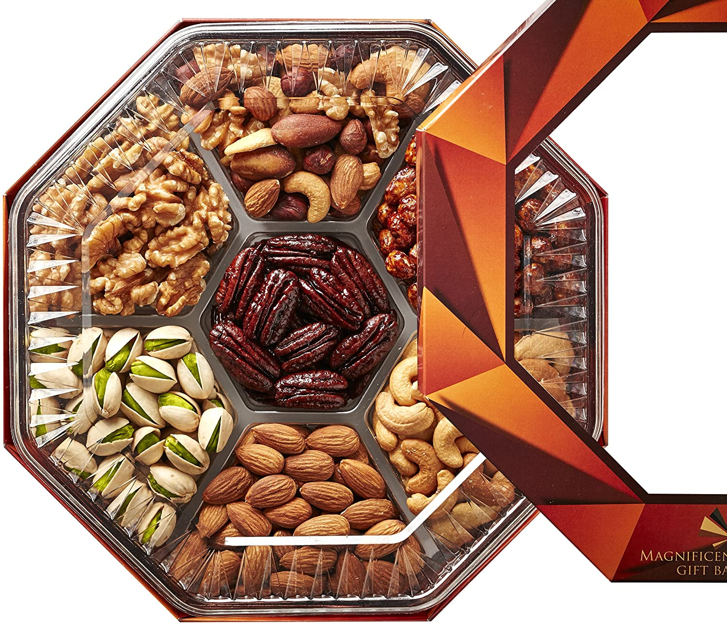 Amazon magnificent gift baskets gourmet food nuts holiday amazon magnificent gift baskets gourmet food nuts holiday gift basket 7 different delicious nuts negle Choice Image