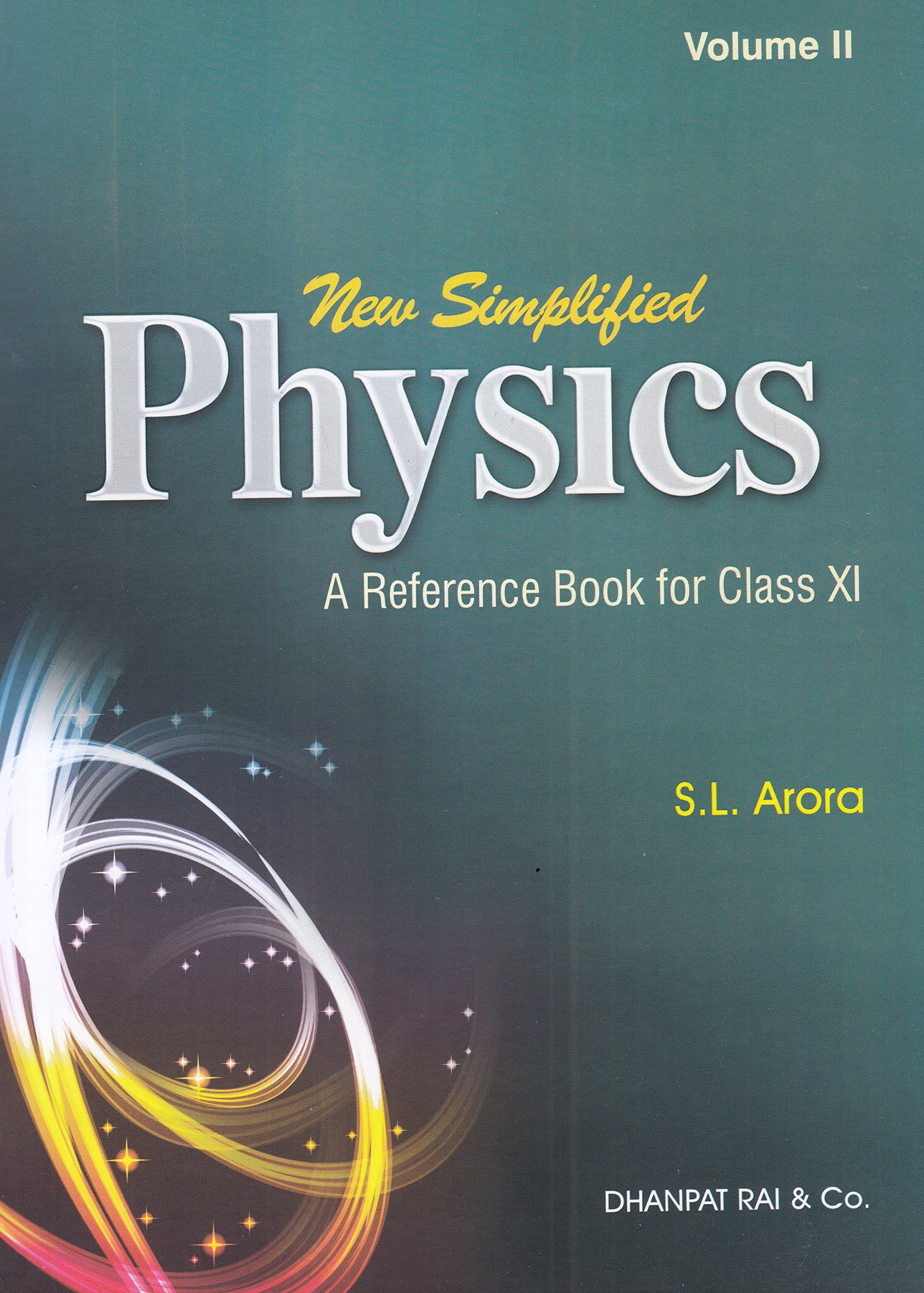 new simplified physics a reference book for class 11 for 2019