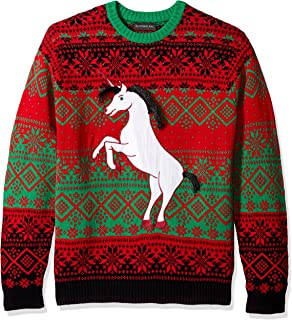 42f500cf6e Blizzard Bay Men s Unicorn Vomit Ugly Christmas Sweater at Amazon ...