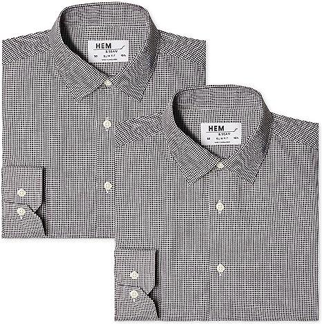 find Pacco da 2 Camicia a Quadri Regular Fit Uomo Marchio
