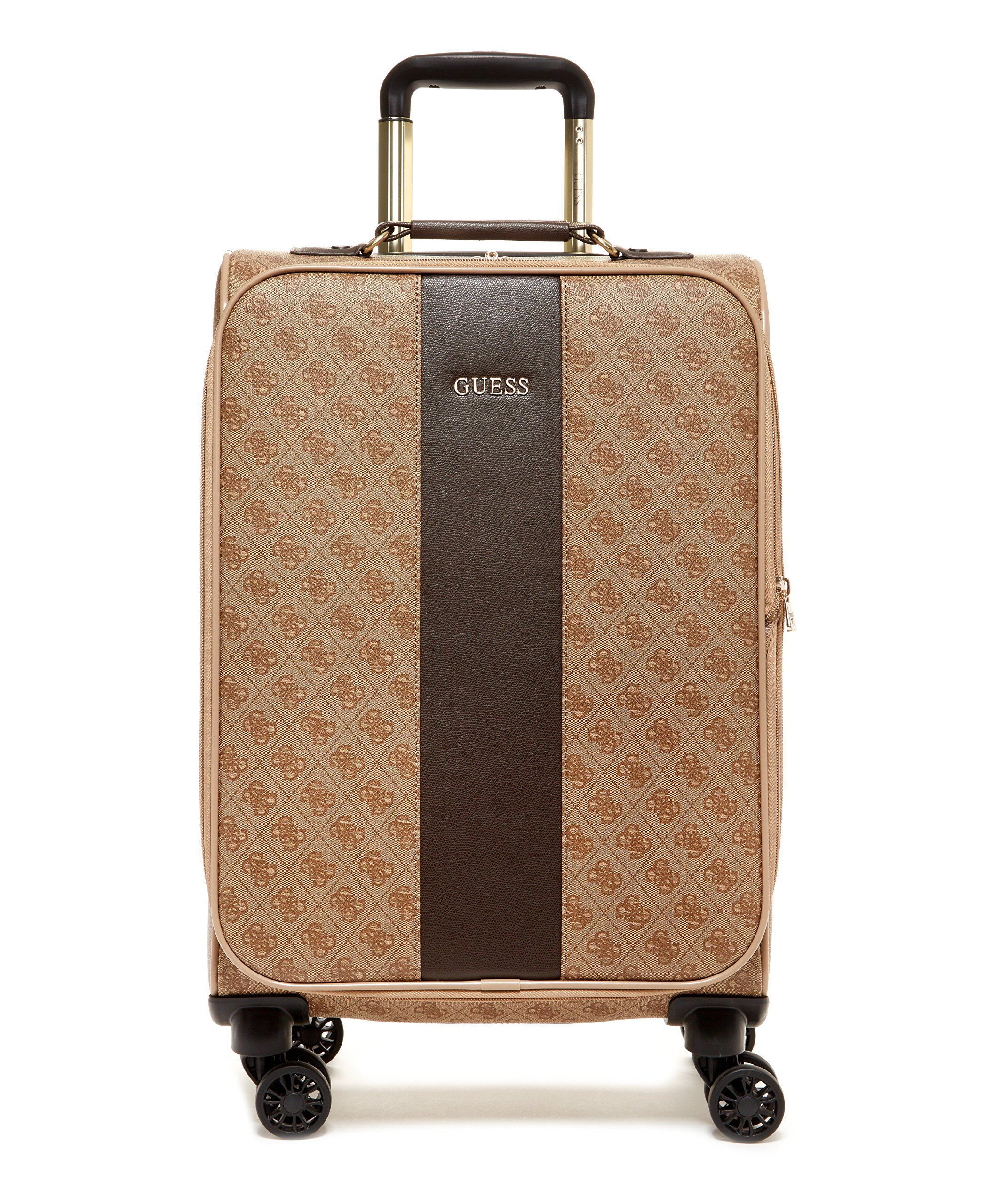 Guess Nissana 20'' Spinner 8-Wheeler, Brown with Gold Hardware
