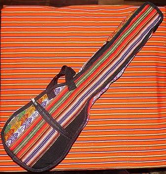 Charango de Perú caso incluido tema en EE. UU.: Amazon.es: Instrumentos musicales