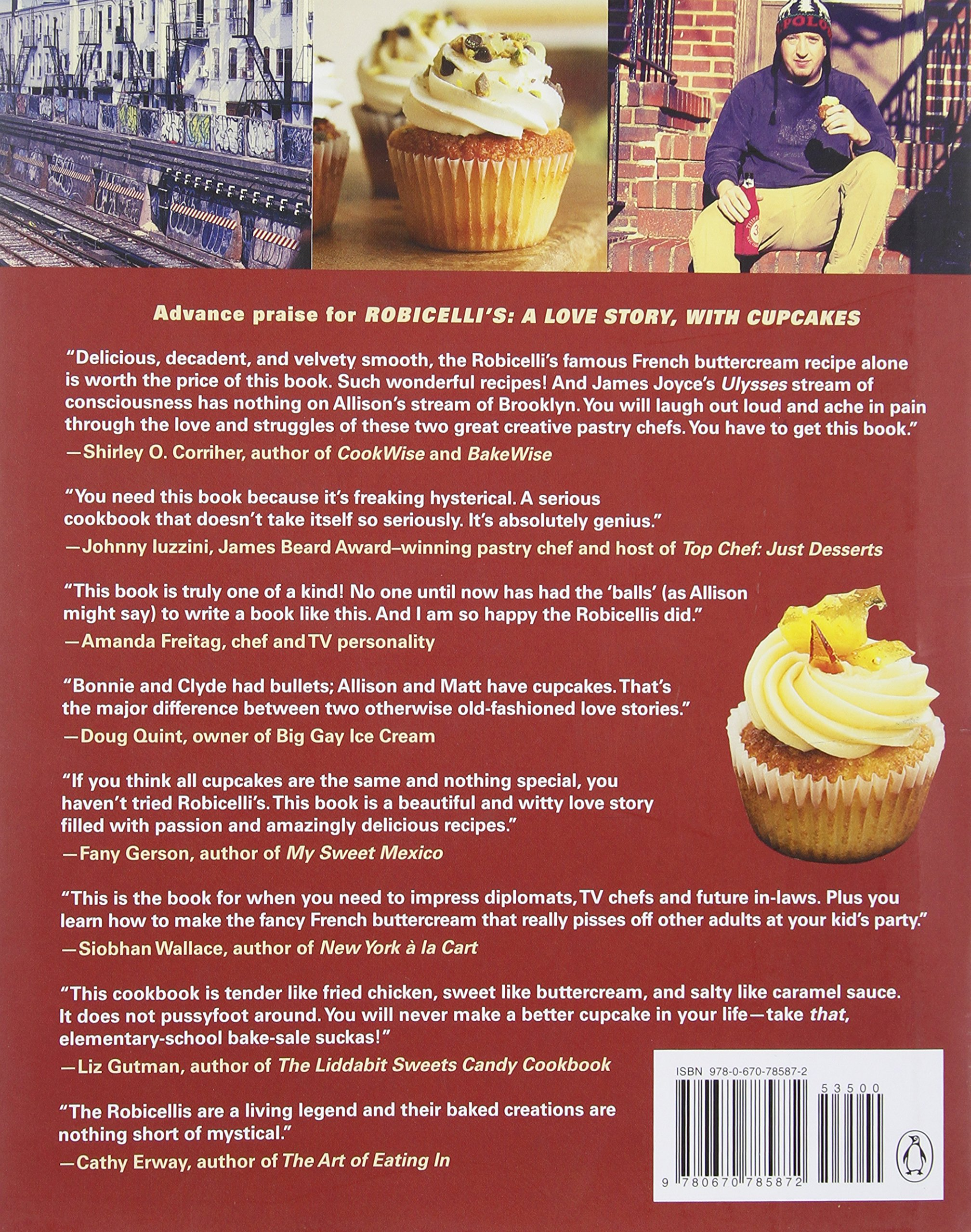 Robicelli's A Love Story, With Cupcakes: With 50 Decidedly Grownup  Recipes: Allison Robicelli, Matt Robicelli, Eric Isaac: 9780670785872:  Amazon: Books