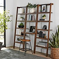 Deals on Mainstays Sumpter Park Ladder Bookcase Desk