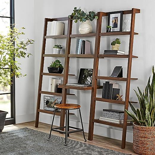 Mainstays Sumpter Park escalera estantería casa y escritorio de oficina (marrón): Amazon.es: Juguetes y juegos