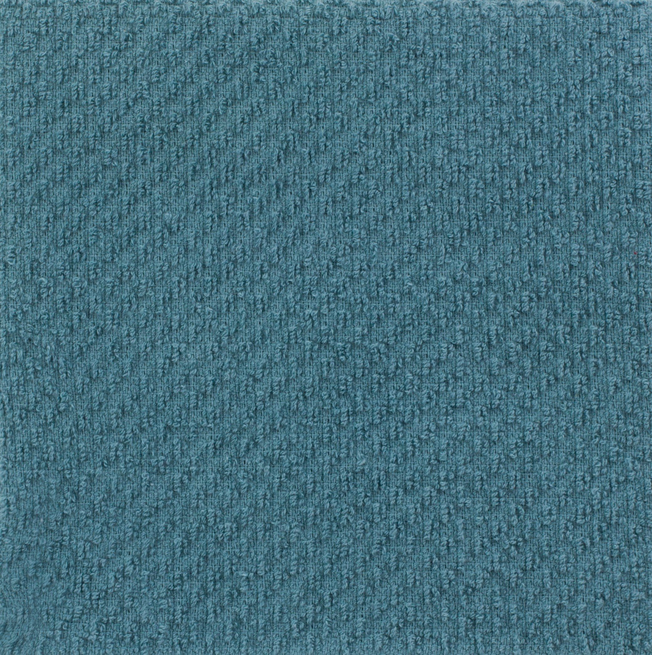 Sticky Toffee Kitchen Towels - blue closeup