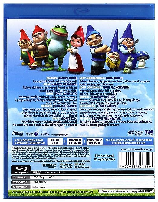 Gnomeo & Juliet Blu-Ray Region B IMPORT No hay versión ...