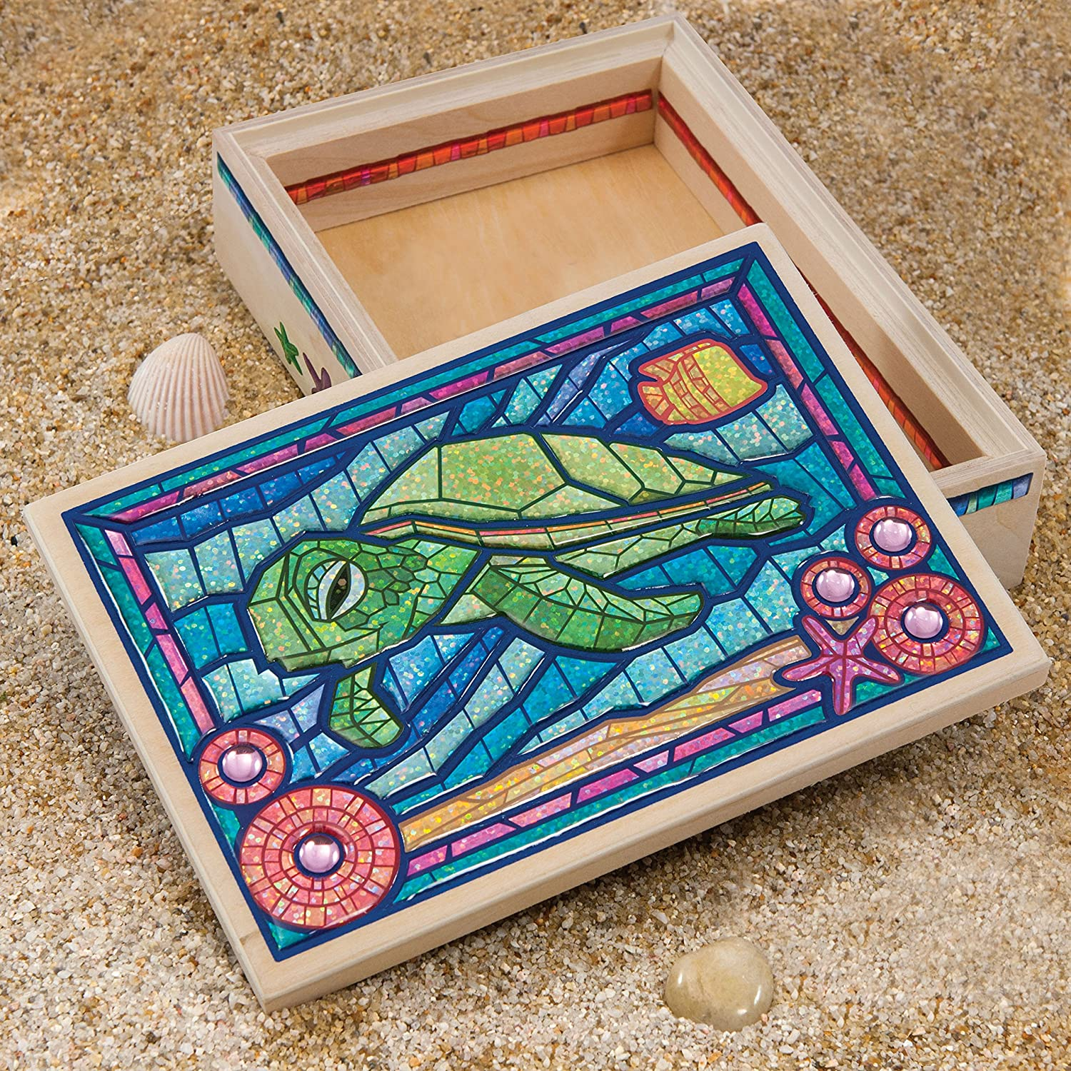 American Girl Crafts Turtle Mosaic Box Kit