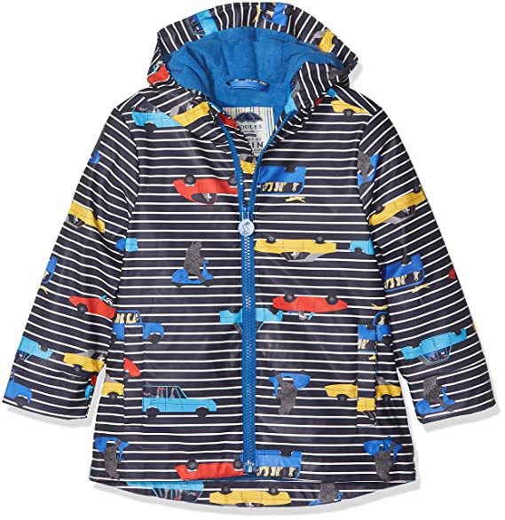 shades of quality amazon Amazon.com: Joules Toddler Boys' Skipper Rubber Rain Coat ...
