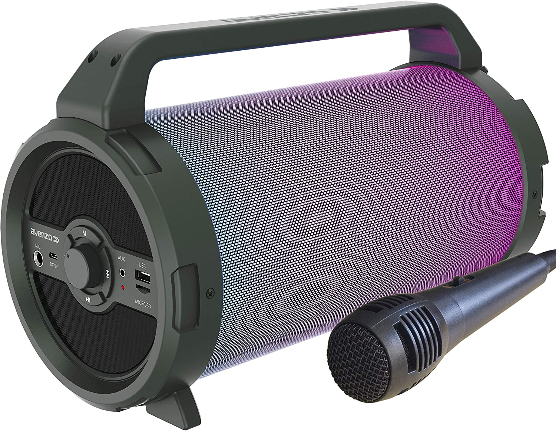 Avenzo AV-SP3301B Altavoz Bluetooth Bazooka 18W con Micro