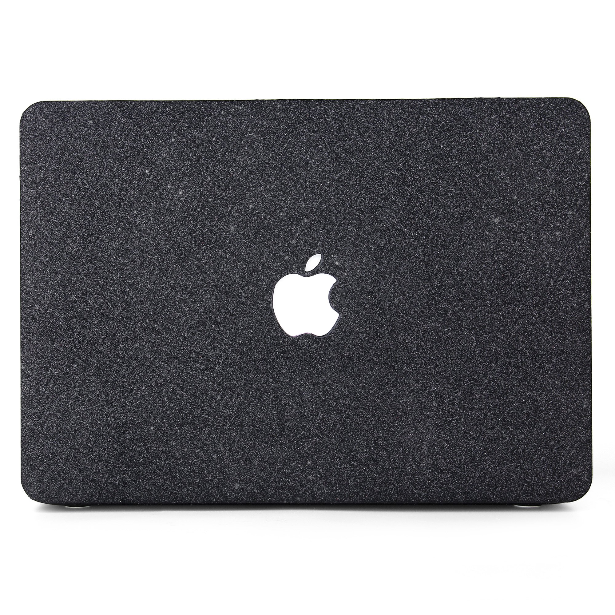 B BELK - MacBook 12'' with Retina Display Case,2 In 1 Matte Glitter Bling Texture Ultra-Slim Light Weight PC Hard Case With Keyboard Cover For MacBook 12 Inch(Model:A1534) - Black