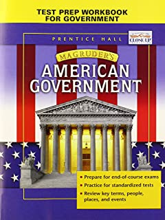 amazon com magruder s american government guided reading and review rh amazon com magruder american government guided reading and review workbook teacher edition guided reading and review workbook california prentice hall magruder's american government