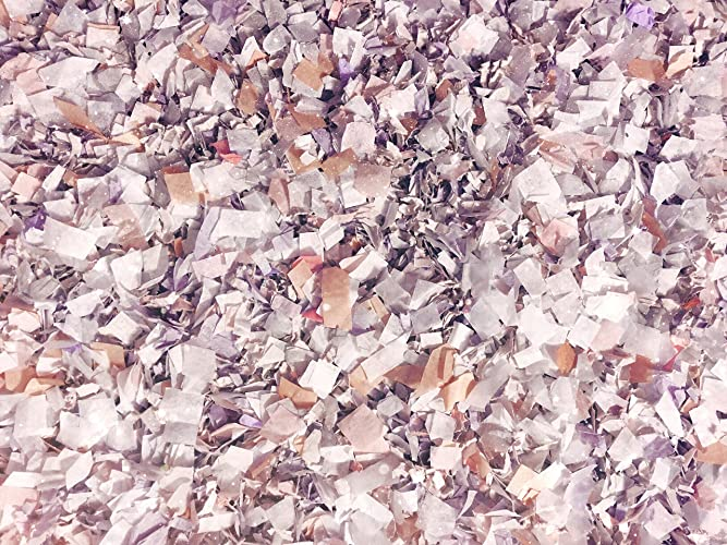 d65f89400b38 Magical Winter Wonderland Confetti Mix Sparkly Glittery Shimmery White  Mauve Grey Dusty Peach Wedding Baby Shower Party Decorations Bulk Throwing  Table ...