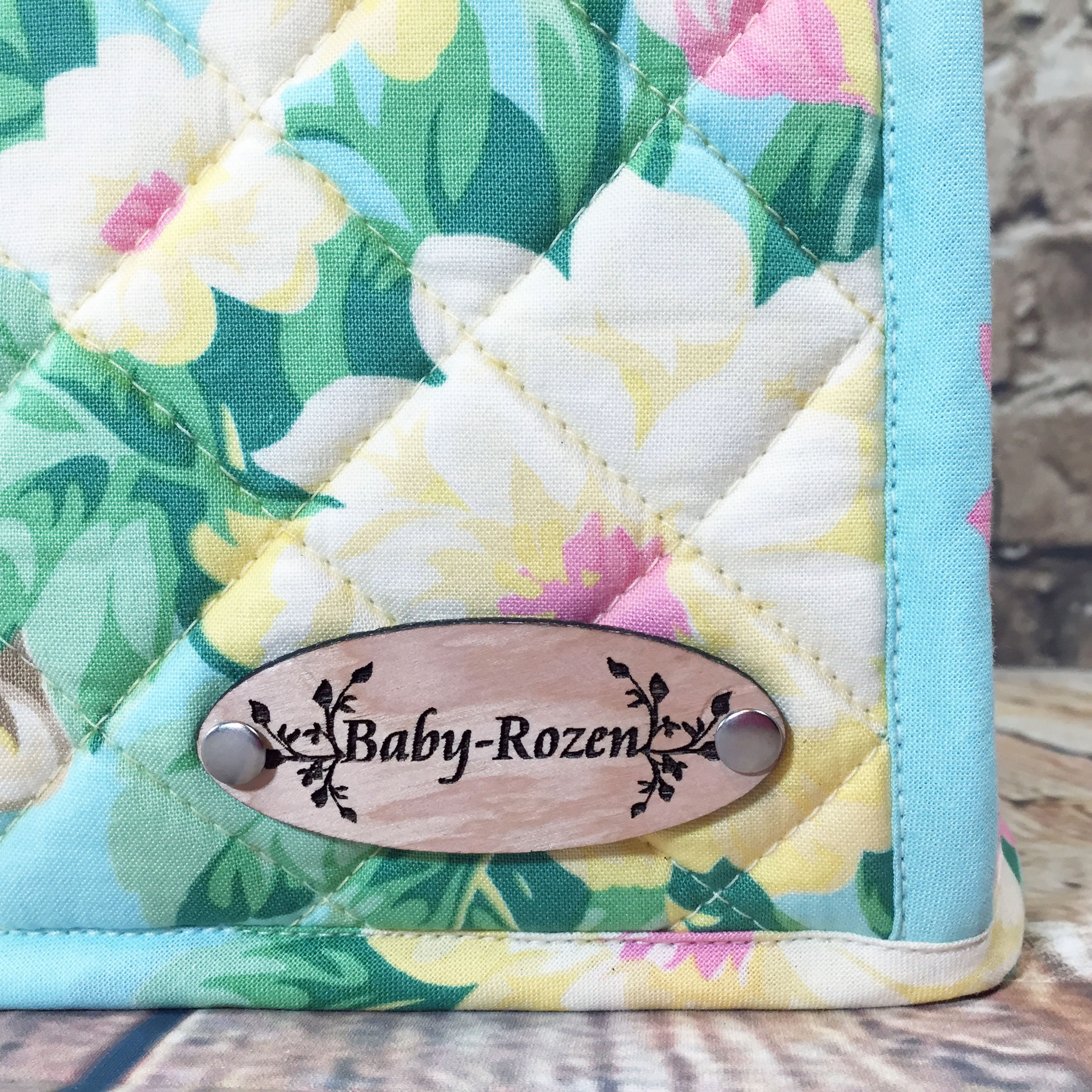 100% Cotton, Custom, Heirloom Quality, Quilted, Mixer Cover, Handcrafted to fit a 4.5 Qt. or 5 Qt. KitchenAid Tilt-Head Stand Mixer, Cozy, Made in Vermont by Baby Rozen Design (Image #8)