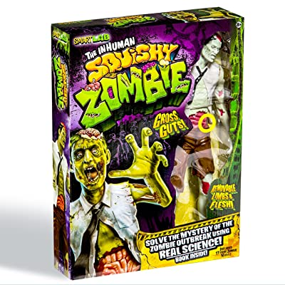 SmartLab Toys The Inhuman Squishy Zombie: Toys & Games