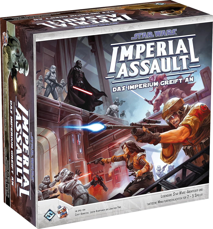 Heidelberger Spielev Erlag HEI1300–Star Wars Imperial Assault–The Imperium has an
