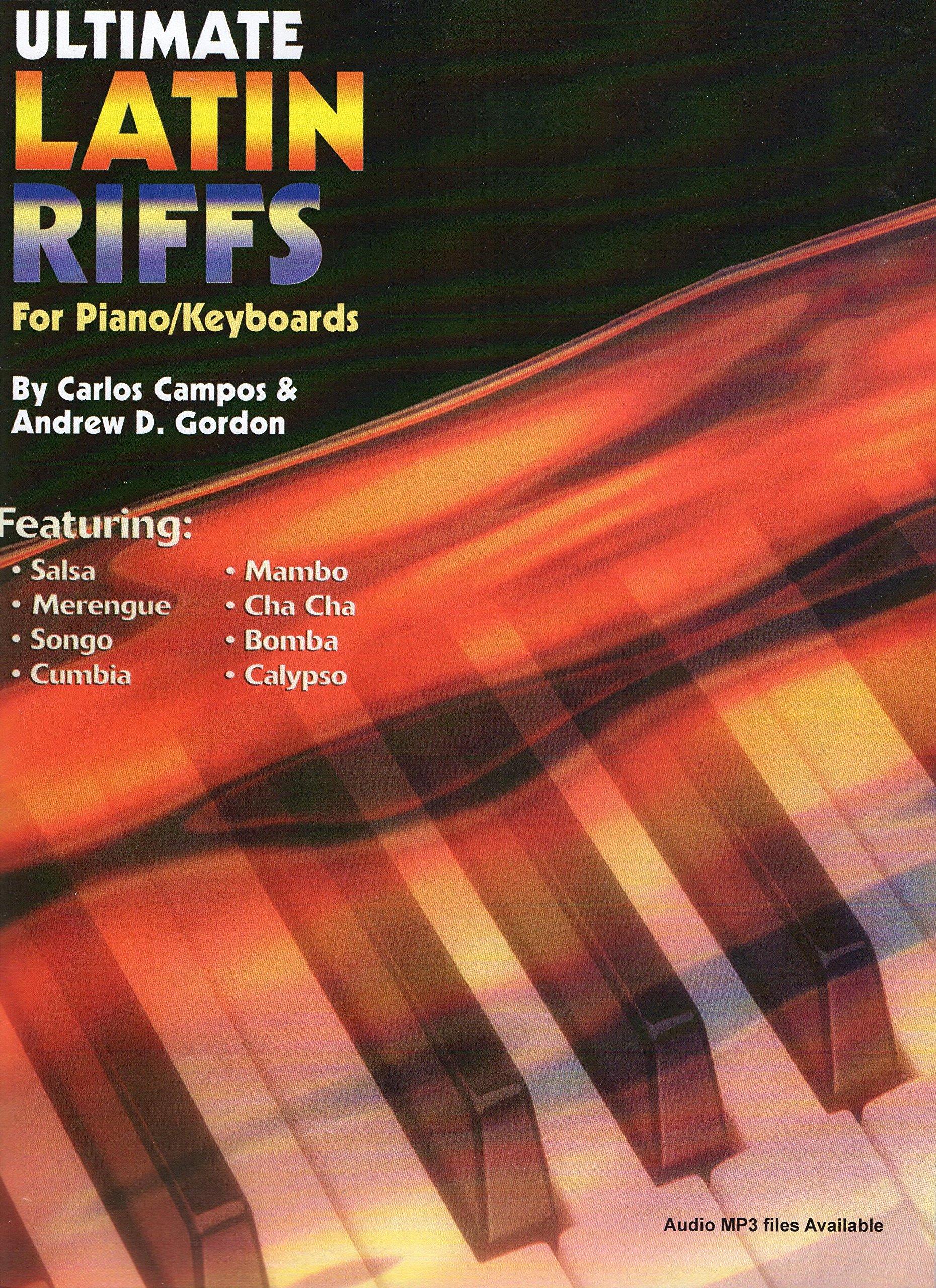 Ultimate Latin Piano/Keyboard Riffs Book/audio files: Andrew