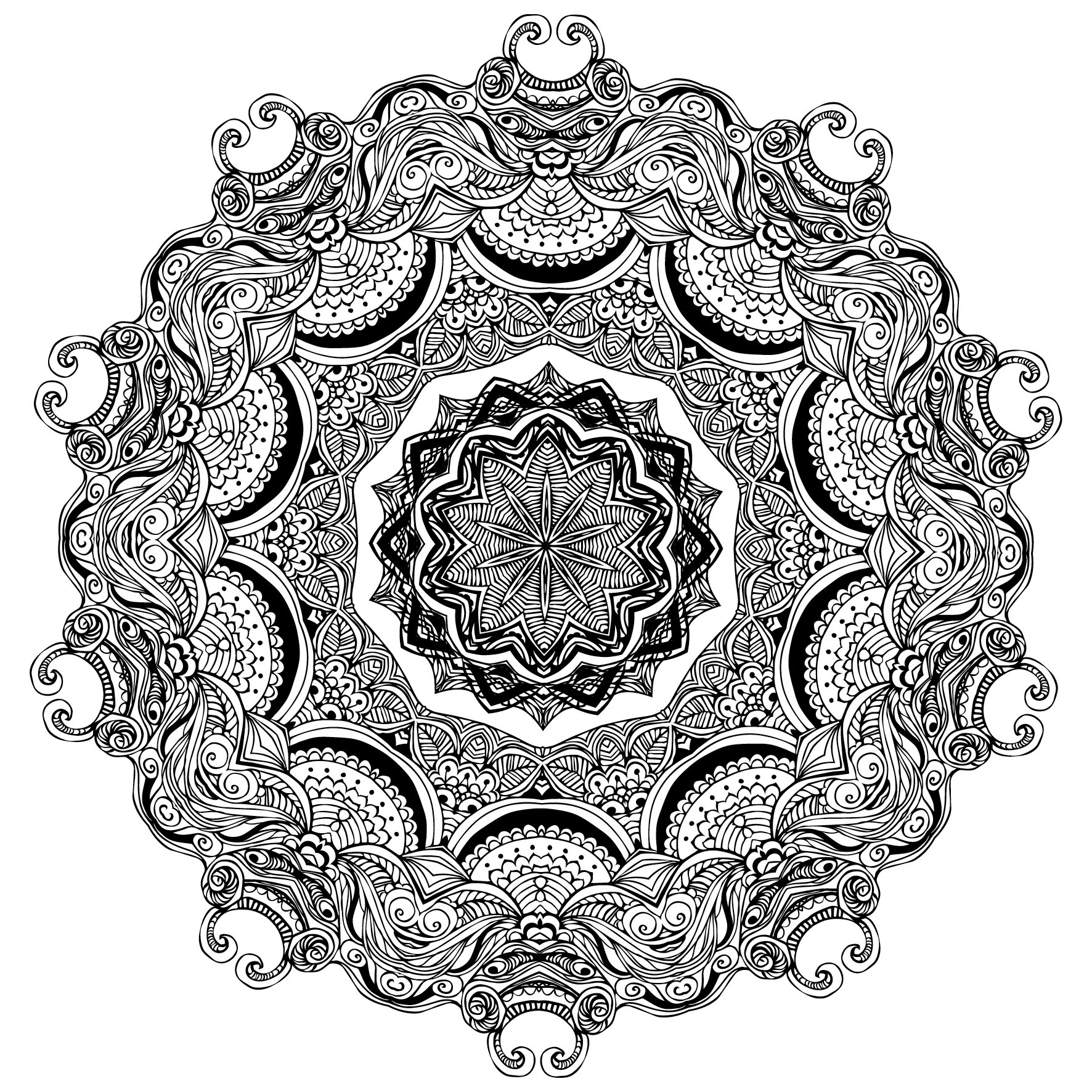 The Third One and Only Mandala Colouring Book: the Third One and ...