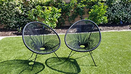 Incredible Amazon Com Indoor Outdoor Acapulco Woven Lounge Chair All Camellatalisay Diy Chair Ideas Camellatalisaycom