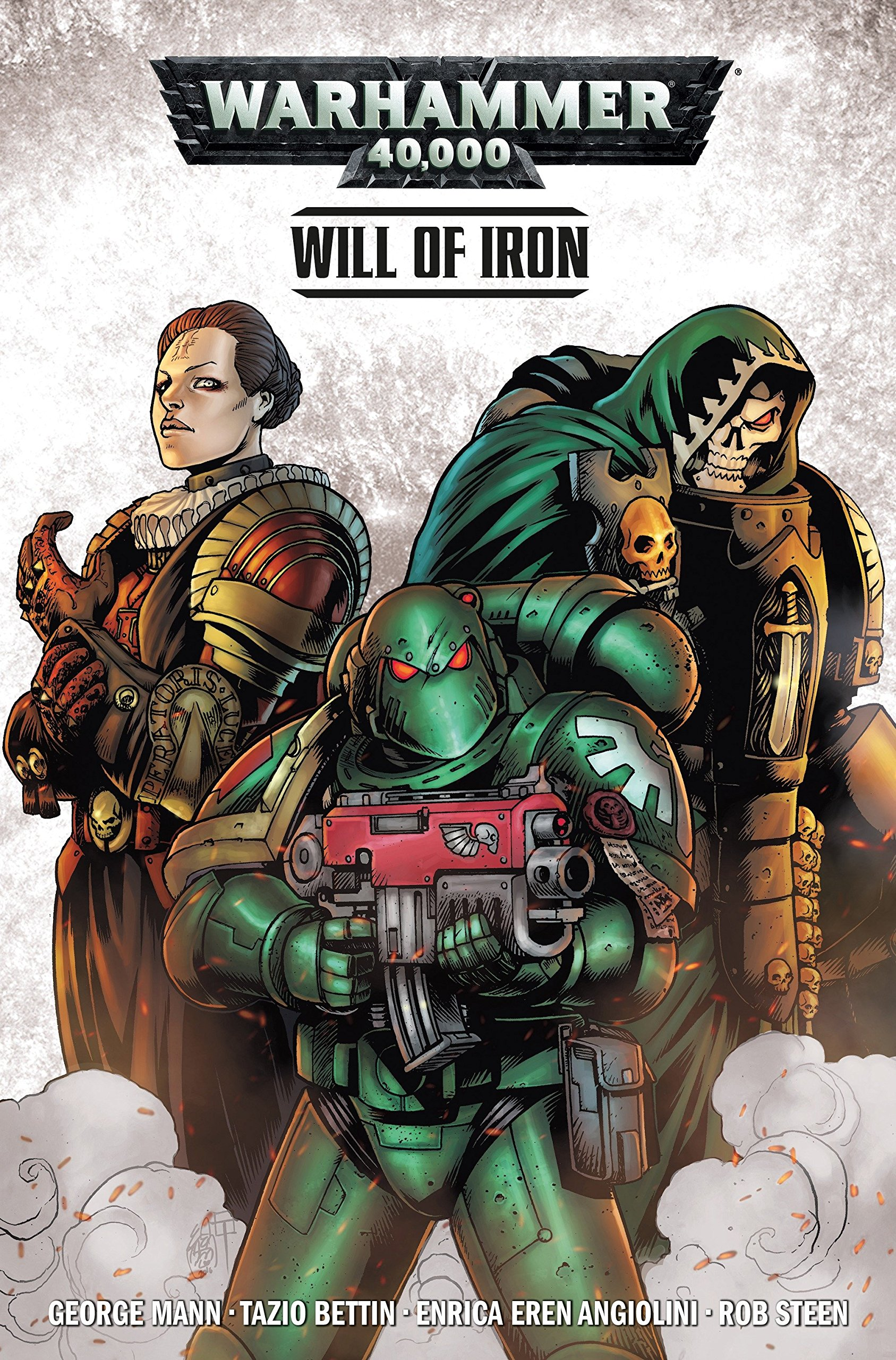 Warhammer 40, 000 Vol  1: Will of Iron: Amazon co uk: George Mann