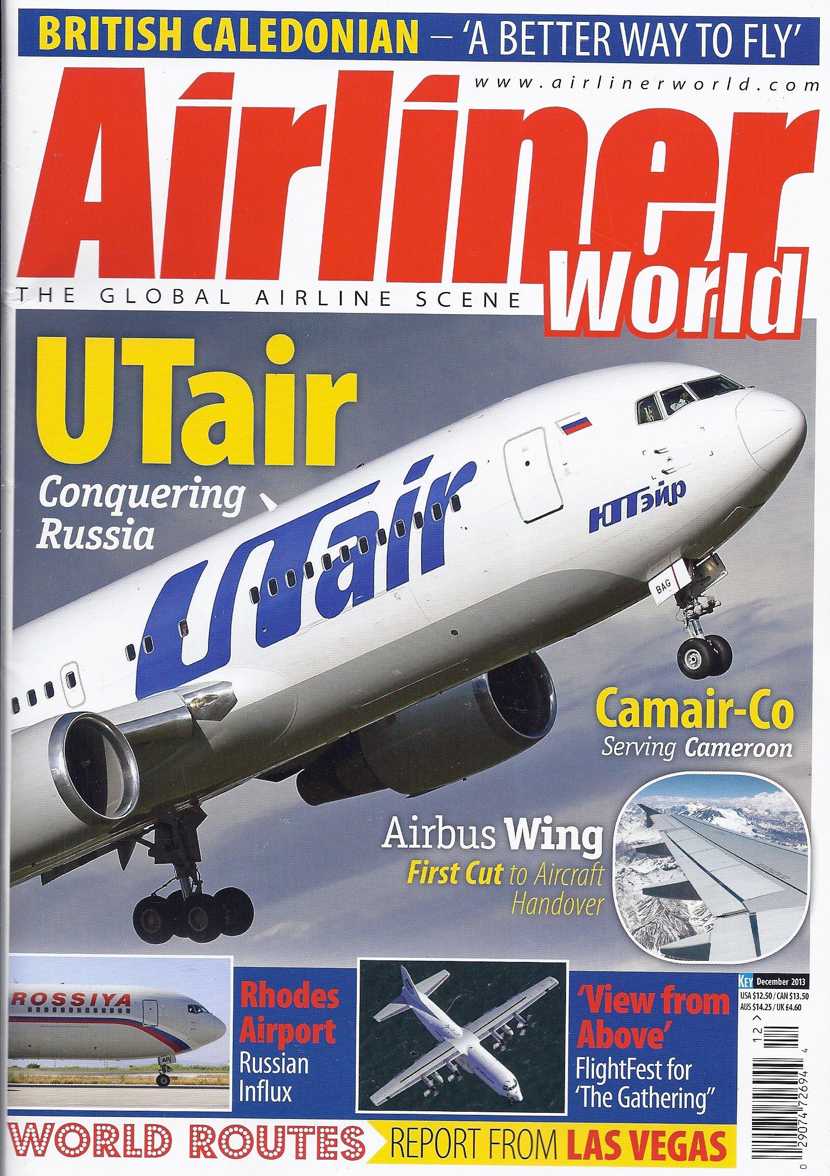 Read Online Airliner World (December 2013) pdf epub