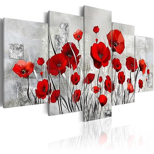 107 opinioni per murando- Moderno Quadro su acrilico vetro 100x50 cm – 5 Parti- Quadro – Stampa