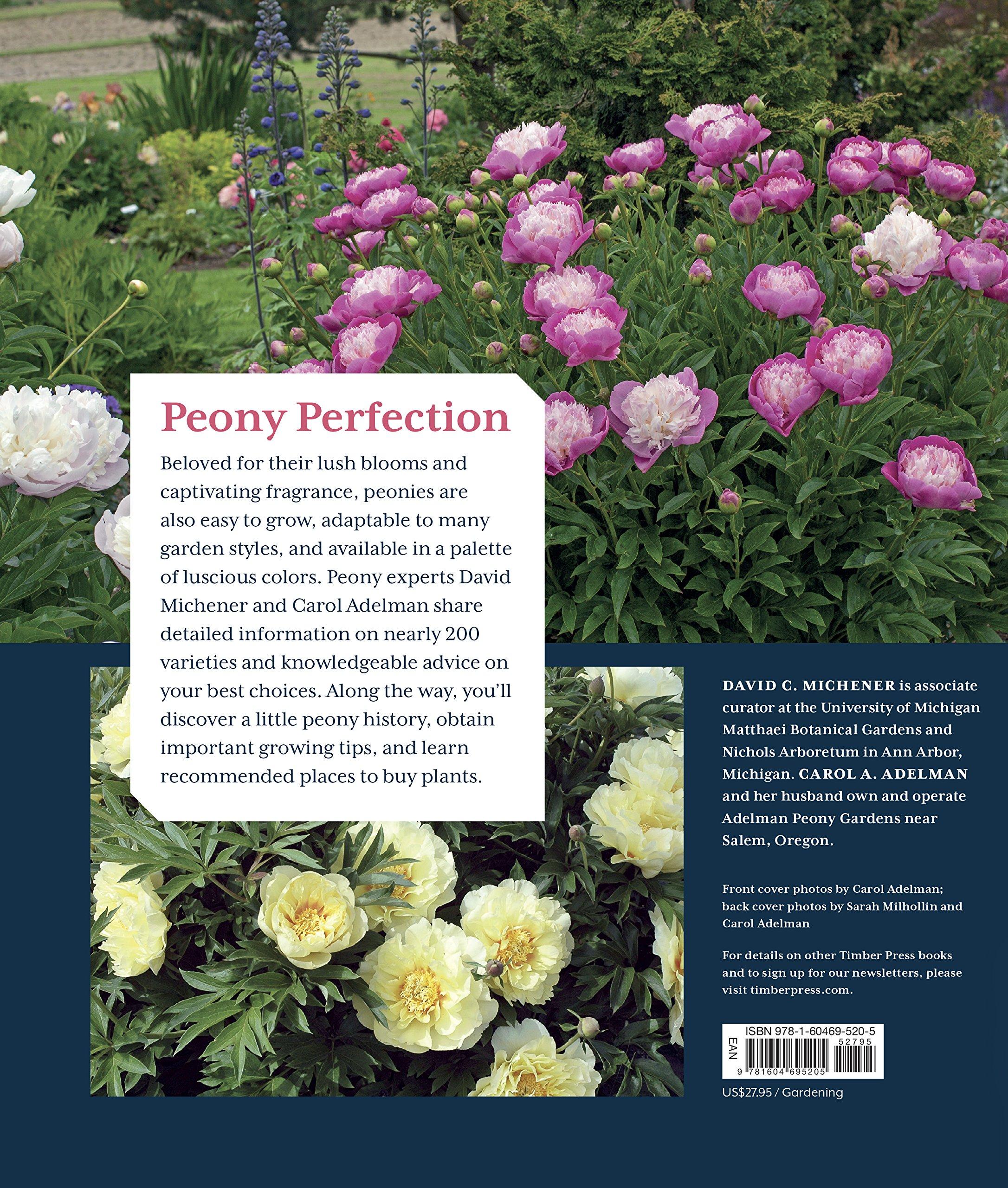 Peony the best varieties for your garden david c michener peony the best varieties for your garden david c michener carol a adelman 9781604695205 amazon books nvjuhfo Gallery